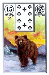 Ursul in Lenormand