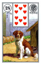 Cainele in Lenormand