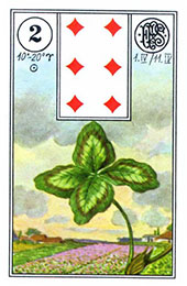 Trifoiul in Lenormand