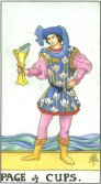 Valet de Cupe - Page of Cups in Tarot