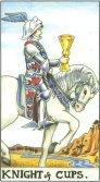 Cavaler de Cupe - Knight of Cups