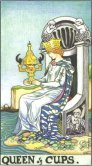 Regina de Cupe - Queen of Cups