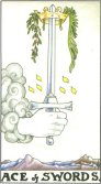 As de Spade - Ace of Spades in Tarot