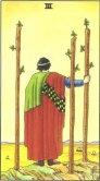 Trei de Bate - Three of Wands