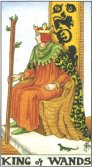 Regele de Bate - King of Wands in Tarot